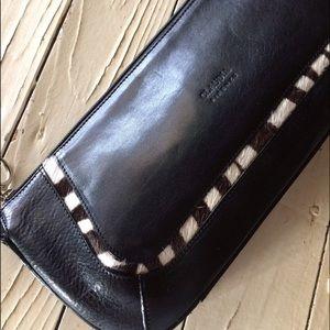 Claudia Firenze Leather Clutch
