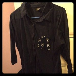 Rue21 Tops - Rue21 long sleeve button up tee