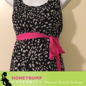two hearts by motherhood Dresses & Skirts - Maternity polkadot Easter dress size medium
