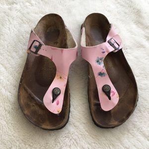 Birkenstock Shoes - Birkenstock Papillio Pink Gizeh Sandals size 10