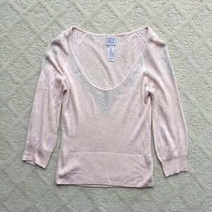 Gorgeous City DKNY Pink Sweater
