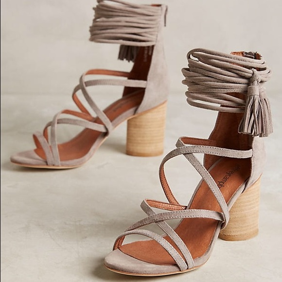 75940b63f98 Jeffrey Campbell Shoes - Jeffrey Campbell taupe suede despina tassel heels
