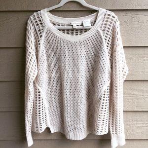 White + Warren Sweaters - White + Warren Cream Cashmere sweater
