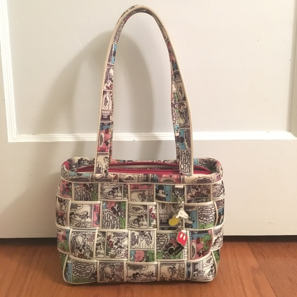 eeae29965 ... harveys handbags harvey s mickey mouse comic strip seatbelt purse ...