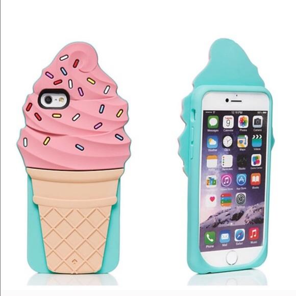 kate spade ♠️ Ice Cream Cone iPhone Case 6/6s