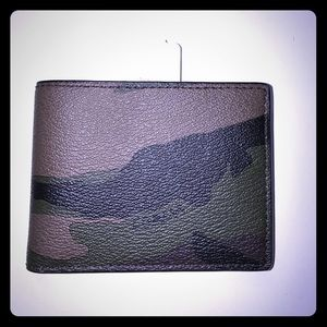 Coach Other - Men's Coach Wallet in Camouflage print