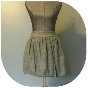 Necessary Objects Dresses & Skirts - {Necessary Objects} Blue/Gray Baby Doll Skirt