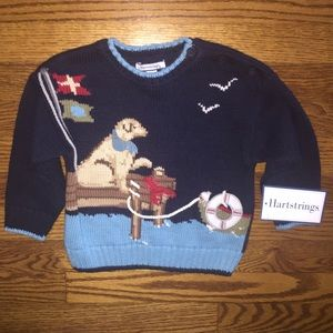 Hartstrings Other - NWT Hartstrings sweater...Size 12 months