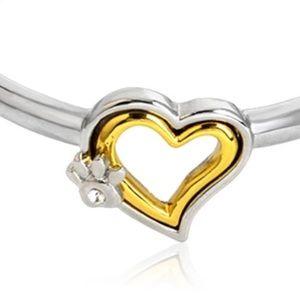 Jewelry - 💛🐾Heart With Paw Bracelet🐾💛