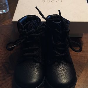Other - Authentic black Gucci boots size 20