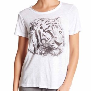 Chaser Tops - Chaser Crew Neck Tiger Tee