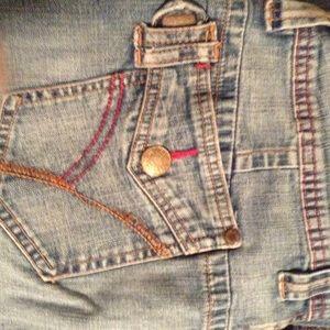 Pepe Jeans Pants - Crop denim