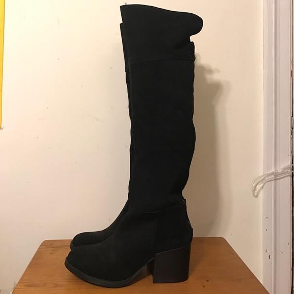 8ddb7713a85 Brand new black Steve madden orabela boots size 9