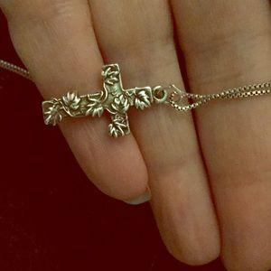 Jewelry - SALE Sterling Silver Cross