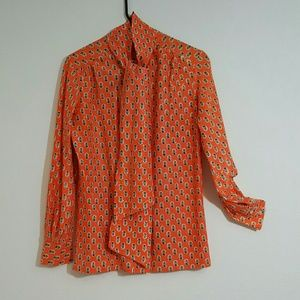 Tops - Golden Sunset Blouse
