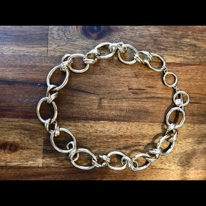 Banana Republic Gold-Tone Chain Link Necklace