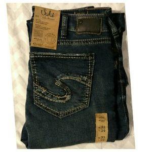 "Silver Jeans Denim - 33x29 ❤👖 Jeans - ""Suki"" style (Super Skinny)"