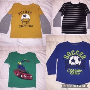 Carter's Other - Toddler boy's 2T long sleeve shirts