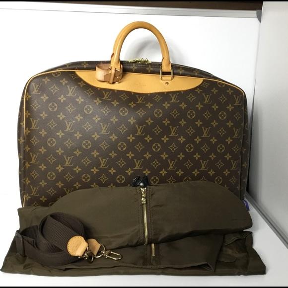 5749092485db Louis Vuitton Handbags - 100%Auth Louis Vuitton Alize 1 Poche Soft Suitcase