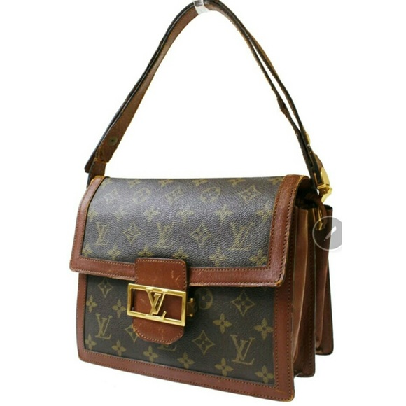 3a1e5c520f69 Louis Vuitton Handbags - Sale🎉🎉LOUIS VUITTON Sac Dauphine Brown Monogram