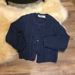 Northern Sweaters - Northern Blue Knitted Cardigan