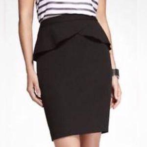 EXPRESS 🔥High Waist🔥 Peplum Skirt