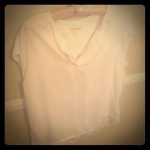 Cloth & Stone Short Sleeve Blouse