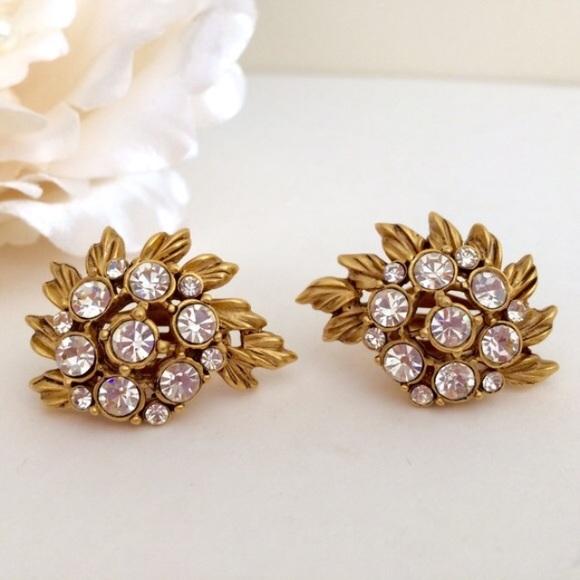 583159e85 Oscar de la Renta Jewelry | Vintage Couture Signed Earrings | Poshmark