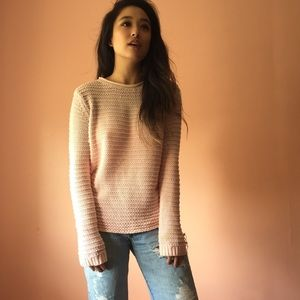 Topshop Sweaters - TopShop Ombré Open Knit Sweater