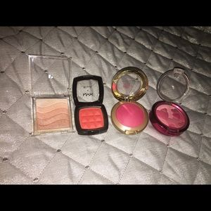 MAC Cosmetics Other - Bundle of blushes and Highlighter!