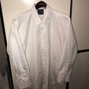 Other - Men's White Formal Fitted Shirt