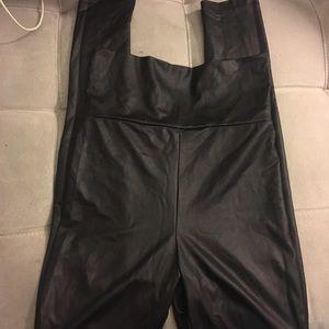 Forever 21 Pants - Black matte liquid leggings