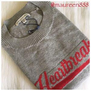 Rebecca Minkoff Heartbreaker Cotton Sweater [grey]