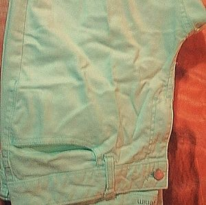Denim - *Gifted* Ladies Mint Green skinny jeans size 16.