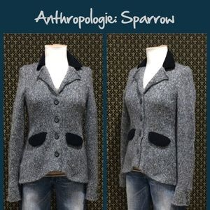 Anthro Sweater Jacket by Sparrow