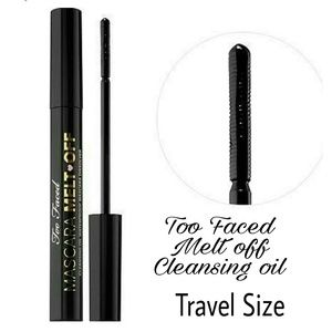 Too Faced Other - TOO FACED Melt Off Cleansing oil Travel Size NIB