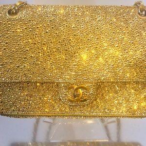 CHANEL Handbags - Custom bling chanel