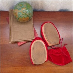 Tieks Shoes - Red foldable flats just like Tieks