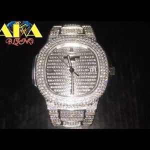 Patek Philippe Other - Patek phillipe fully flooded lab made diamonds
