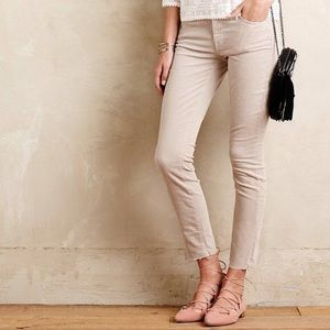 MOTHER Pants - Anthropologie Mother Ankle Fray Cords