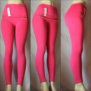 Pants - Pink Zip Leggings💥