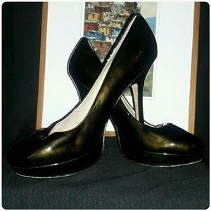 Joan & David Shoes - Joan & David Patent Leather Platform Pumps