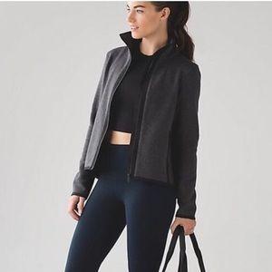 Lululemon it's fleecing cold zip jacket