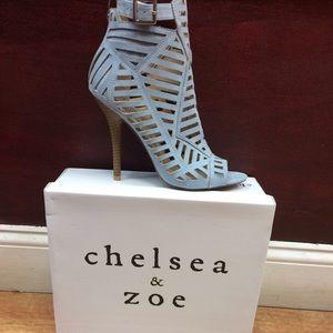 Chelsea & Zoe Shoes - Chelsea & Zoe parnika caged shooties