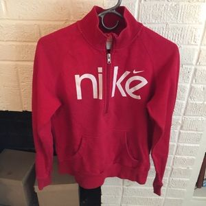 Nike 1/4 zip sweatshirt