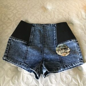 Elite Jeans Pull on Shorts