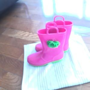 Other - 🔴 Girls pink rain/mud boots