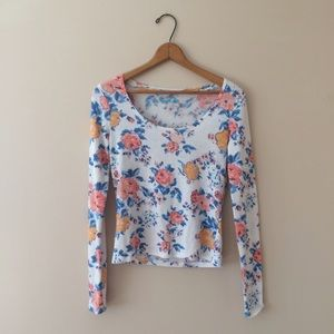 Mudd Tops - Floral top