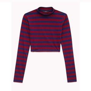 Missguided Tops - LONG SLEEVE CROP