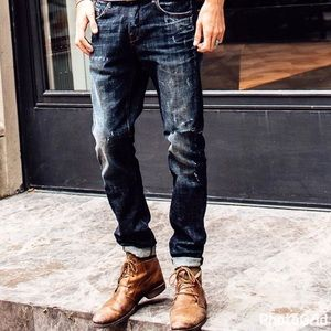 The Mens Place Other - ▪NEW - Slim Fit Dark Wash Jeans